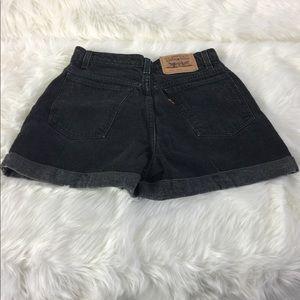 Vintage Denim Shorts Hi Rise Orange Tab Levi's